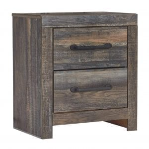 Drystan Industrial Rustic Night Stand