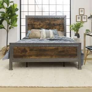 Industrial Style Beds/Night Stands