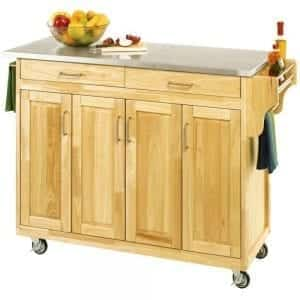 Bakers Rack, Cart and Portable Island