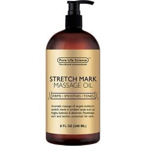 stretch mark massage oil