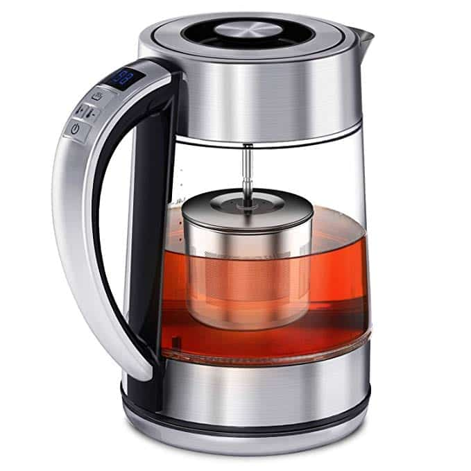Febote Electric Tea Kettles Tea infuser Temperature Control