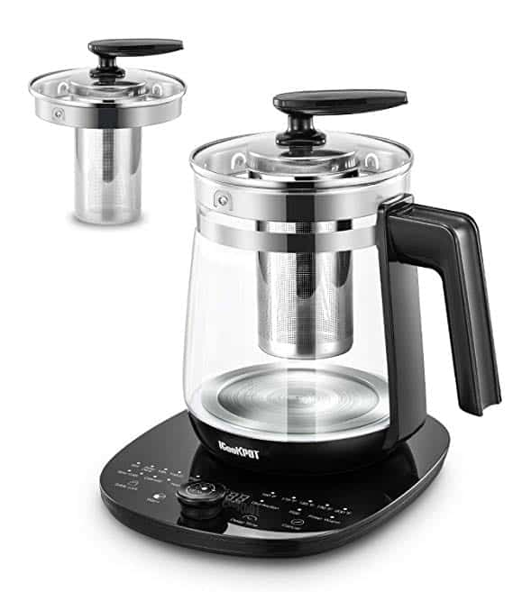 ICookPot Programmable Multi-Use Glass Electric Kettles
