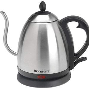 Bonavita 1.0L Electric Kettles Gooseneck Spout Auto Shut-off