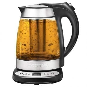 Chefman glass electric kettles