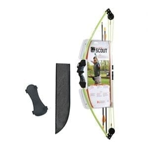 Bear Archery Bow Scout Youth Bow Set –Flo Green