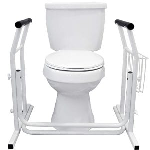 Vaunn Toilet Frames Stand-Alone Bathroom Safety Rails
