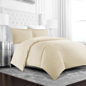 Beckham Duvet Covers Cream